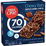 Fiber One 70 Calorie Bars, Chocolate Caramel and Pretzel, 5 Bars