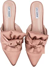 Cape Robbin Women's Bow On Me Pointed Toe Flat