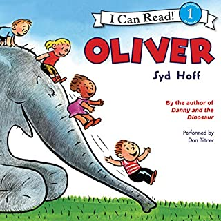 Oliver audiobook cover art