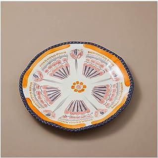 Dinner plate السيراميك حلوى لوحة عشاء لوحة جولة مقبلات لوحة الحلوى السوشي السلطانية مناسبة للسلطة السوشي البطاطس الفرنسية ...