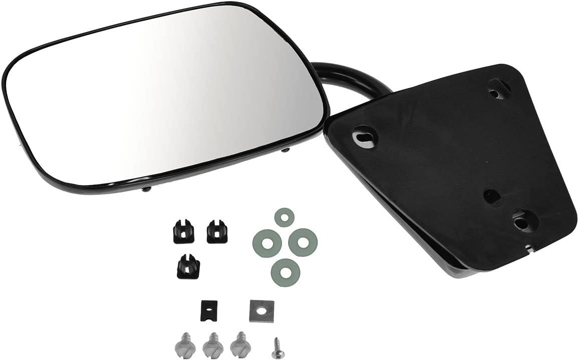 Mirror Inventory cleanup selling sale Today's only Manual Black LH Left Driver RH Side Right or Co Passenger
