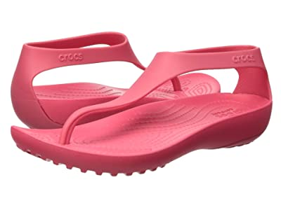 Crocs Serena Flip (Poppy) Women