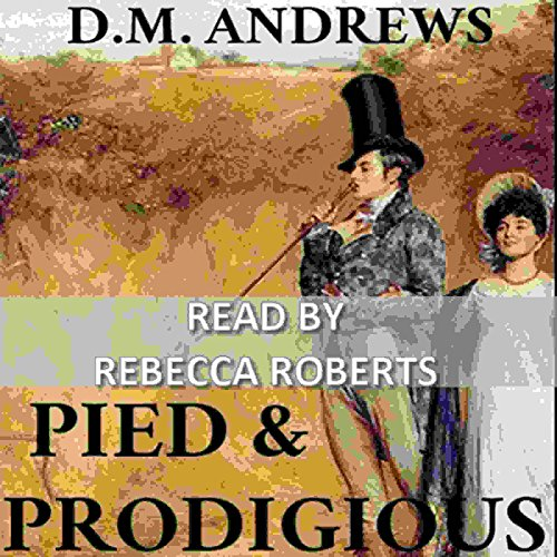 Pied and Prodigious audiobook cover art