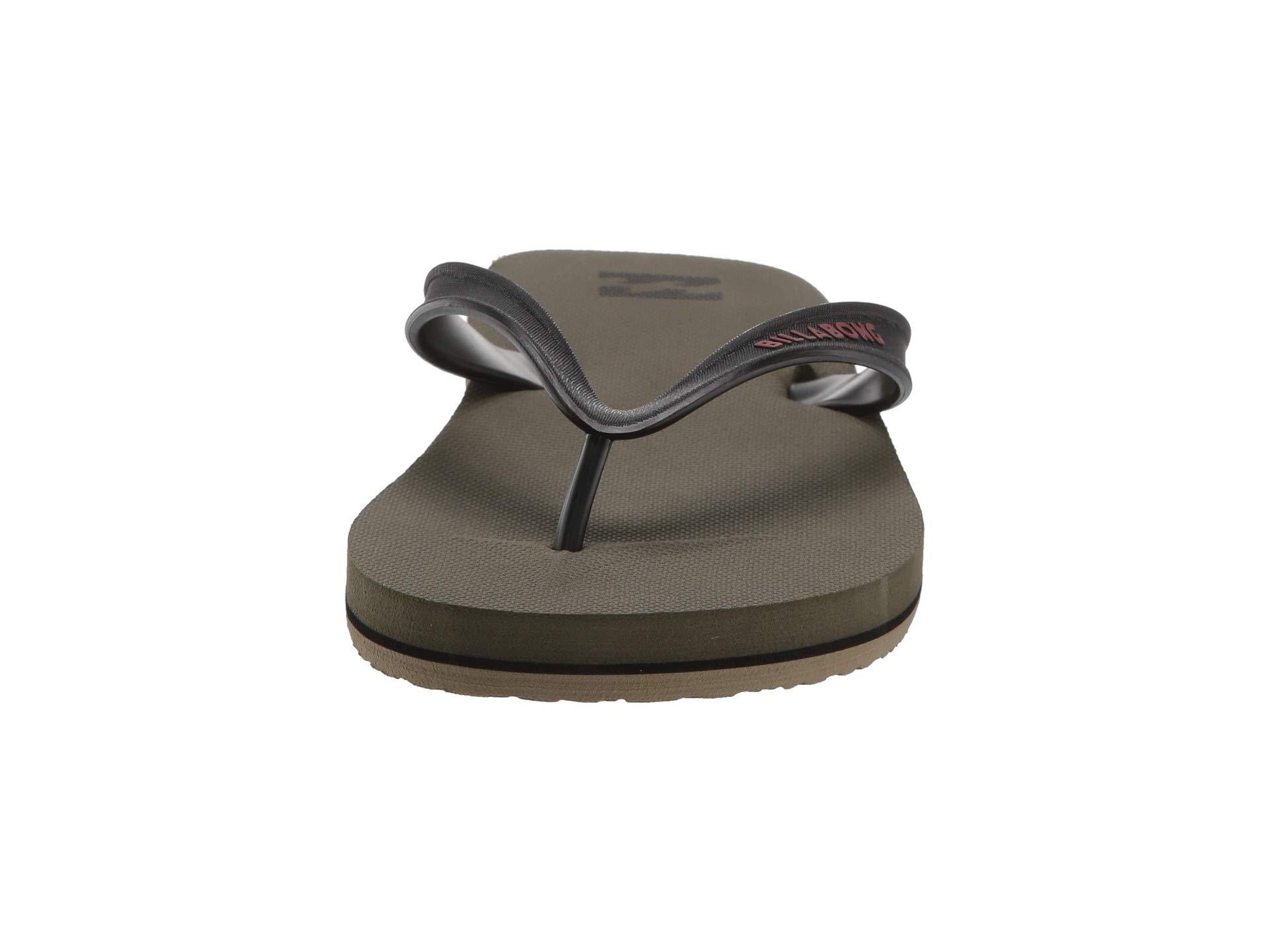 Day Solid Rrcqwtr Billabong Sandals Sandal Military All L35R4Aj