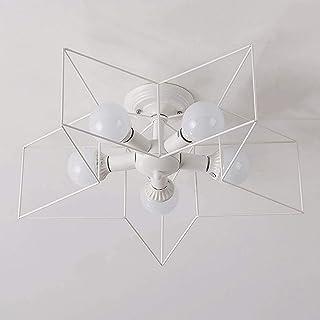 SAFGH Lámpara de Techo Minimalista Moderna Creative Star Lámpara de Techo para habitación de niños Lámpara de Techo para D...