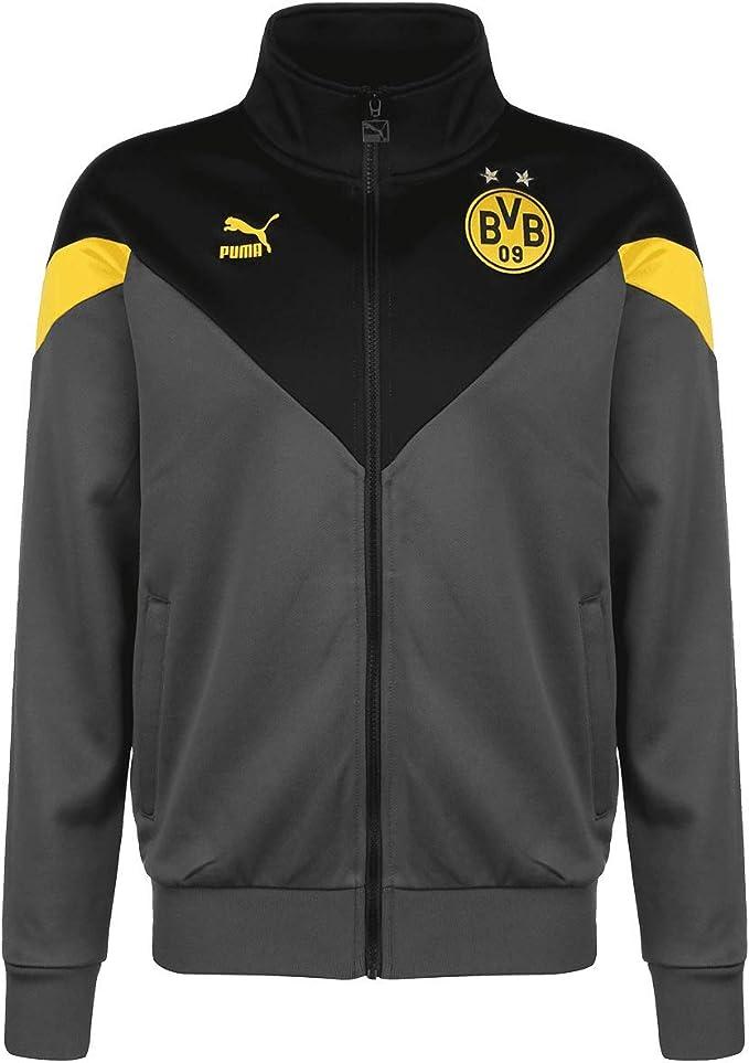 Puma Borussia Dortmund BVB Iconic MCS Track, Giacca Tuta Uomo