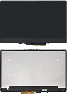"""WARWOLFTEAM New 13.3"""" 1920X1080 FHD LCD Touch Screen Digitizer Replacement Assembly for Dell Inspiron 13 7000 7386 2 in 1 Series P91G P91G001 0RNF5C"""
