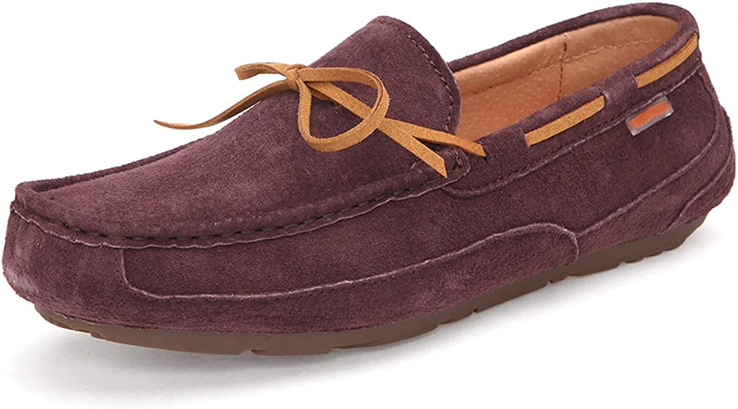 Men's Casual shoes, Comfortable Driving shoes Loafers & Slip-Ons Lazy shoes for Work, Leisure,Sports,Going Out,Gatherings,B,39
