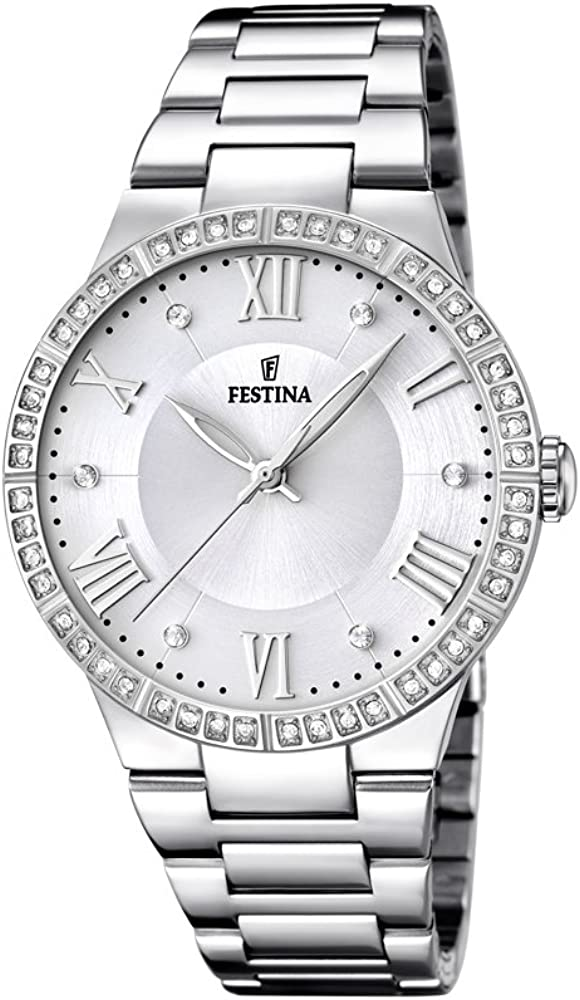 Festina orologio analogico da donna in acciaio inossidabile F16719/1