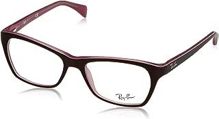RX5298 Eyeglasses Top Matte Brown On Opal Pink 53mm