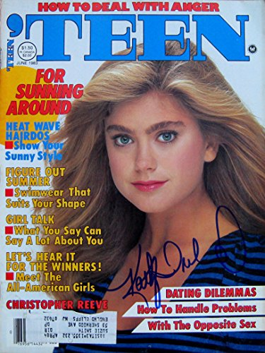 Super Model KATHY IRELAND autographed TEEN Magazine June 1983