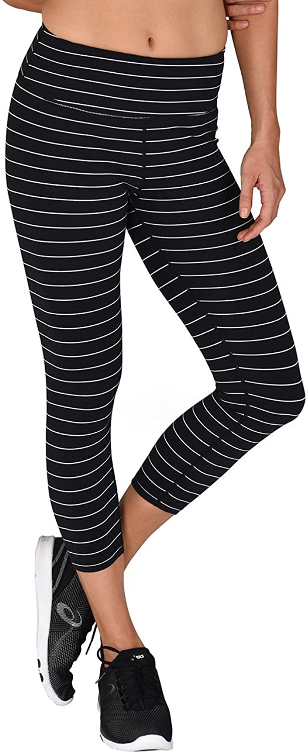 Glyder Vital Tight  Black and White Pinstripe