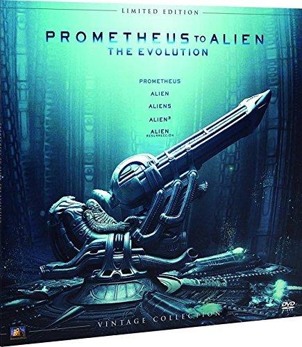 Alien Antología Colección Vintage (Funda Vinilo) Blu-Ray