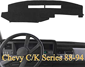 Yiz Dash Cover Mat Custom Fit for Ford F150 F250 F350 Pickup Truck 1992 1993 1994 1995 1996,Dashboard Cover Pad Y73 Gray