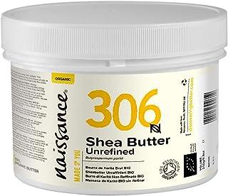 Naissance Sheabutter BIO Nr. 306 250g - rein und natürlich, unraffiniert, BIO zertifiziert, handgeknetet, vegan & parfümfrei - ethisch und nachhaltig hergestellt aus Ghana