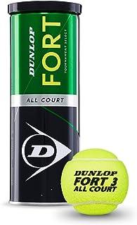 كرة التنس الارضي اول كورت من دنلوب فورت، مجموعة من 3 قطع DL601315 لكل علبة