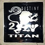 Destiny 2 Titan Class Mirror Glass Etching
