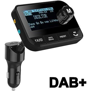 avec transmission FM et sortie AUX FMX-610.dab Auvisio R/écepteur DAB