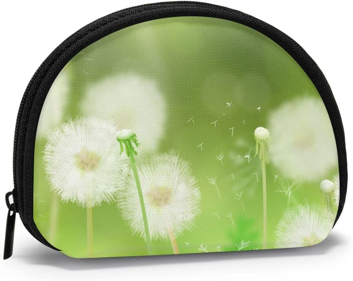 White Year-end Fort Worth Mall gift Dandelion Pouch Bag Small Daily Purs Portable Coin Storage