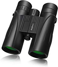 8x42 Full-size Binoculars For Adults(BAK4,Green Lens), Durable HD Clarity Binoculars For Bird Watching Sightseeing Hunting Wildlife Watching Sporting Events, W/Carrying Case Strap Lens Cap(1.68 Pound)