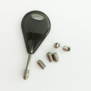 Surfboard Accessories FCS Fin Key Transparent Black Tail Stem Key + Screw