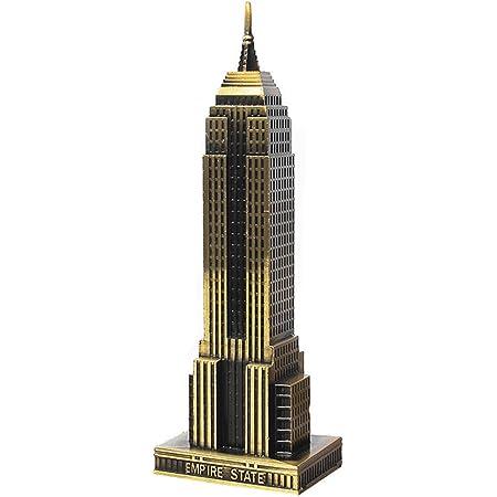 Empire State Building Figurine Vintage New York Sou Sale Vintage Metal Copper Wash New York City Empire State Building Souvenir Figurine