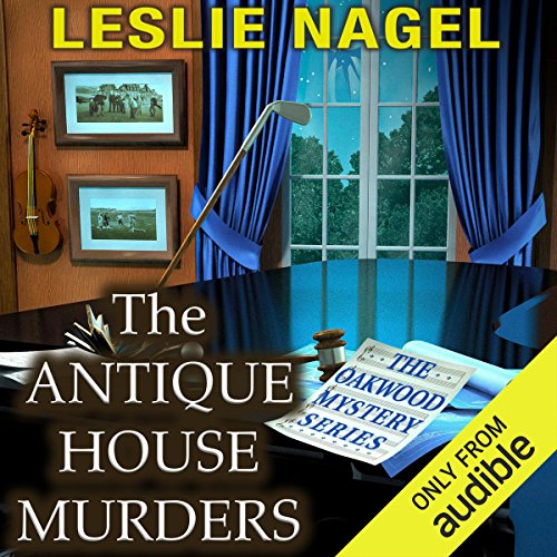 The Antique House Murders audiobook cover art