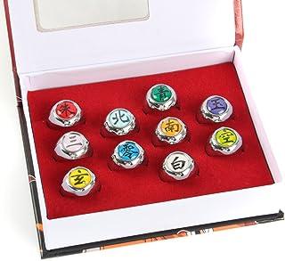 Naruto Akatsuki full rings set :Cosplay accessories