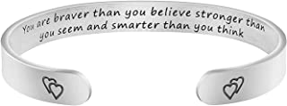 Best you are braver than you believe bracelet Reviews