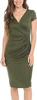 Best short olive green bridesmaid dresses Reviews