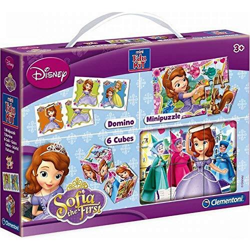 GUIZMAX Spielset Spiel Prinzessin Sofia die Erste Puzzle Würfel / in einem Land vor Unserer Zeit : Memo / Domino