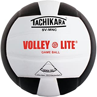 Tachikara SVMNC Volley Lite volleyball (Black/White)
