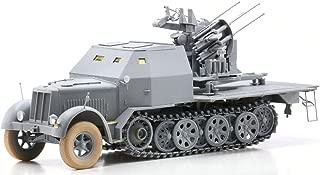 DR6533 1 / 35 WW.II Germany army Sd.Kfz.7/1 Armored halftrack 2 cm quadruple wearing Flak 38 anti-aircraft self-propelled gun types