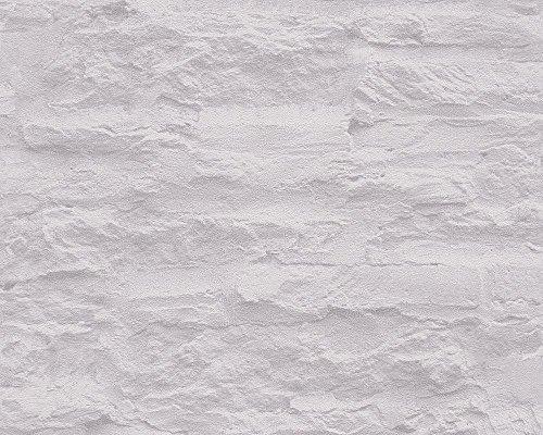 Schöner Wohnen 959081 Vliestapete Best of Wood`n Stone 2nd Edition Tapete, Mustertapete in Felsenoptik, creme, grau, 10,05 m x 0,53 m