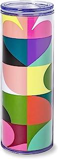Kate Spade New York 16 Ounce Insulated Travel Mug, Double Wall Thermal Tumbler for Coffee/Tea, Spade Dot Geo