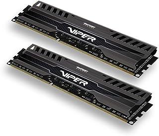 Patriot 8GB(2x4GB) Viper III DDR3 1600MHz (PC3 12800) CL9 Desktop Memory with Black Mamba Heatsink - PV38G160C9K