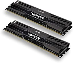 Patriot Viper 3 Series, Black Mamba, DDR3 8GB (2 x 4GB) 1600MHz Dual Channel Kit (PV38G160C9K)