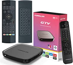 $179 » Formuler Gtv Certified Android Tv 9.0 with Bluetooth Remote Control + Free Bonus Air Mouse with Keyboard and Backlit.