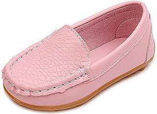 PPXID Chaussures Mocassins Bateau Oxford Enfant Loisirs Confort pour Garçon et Fille