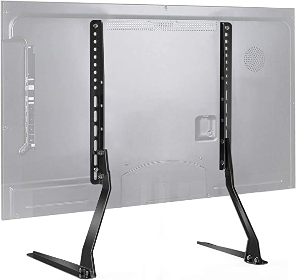 PERLESMITH Universal Table Top TV Stand For 37 70 Inch Flat Screen LCD TVs Premium Height Adjustable Leg Stand Holds Up To 110lbs VESA Up To 800x400mm