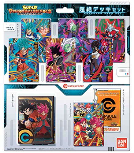 Super Dragon Ball Heroes Chosetsu Card Deck Set Cartas