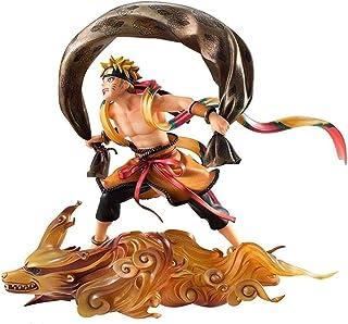 Verkligt och roligt Toy Statue Naruto Shippuden Figur -Uzumaki Naruto Fengshen Atcion Figure Collectible PVC Figur för Nar...