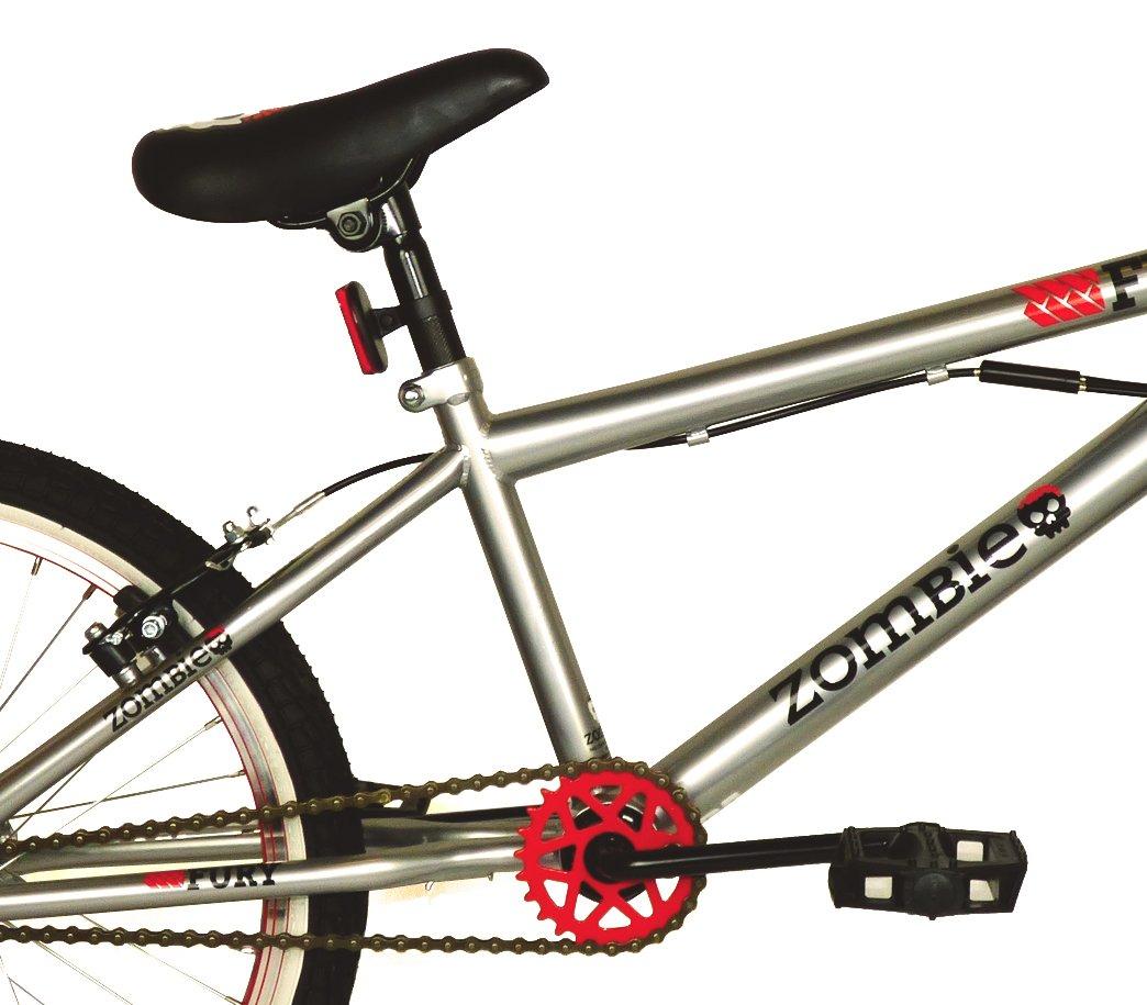 Nueva Zombie Fury – Bicicleta BMX, ruedas de 20 pulgadas Cromo ...