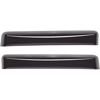 Dark Smoke WeatherTech Custom Fit Front and Rear Side Window Deflectors for Toyota Tundra Double Cab