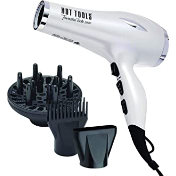 Hot Tools Professional 1875W  Lightweight and Quiet Turbo Ionic Dryer