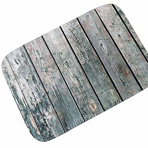 JUNDY Alfombra de Baño Antideslizante de Baño Absorbente Tapete del Piso Lavable a Máquina Suave Alfombra de Piso de Madera Alfombra de baño Antideslizante Absorbente de Agua colour8 40 * 60cm