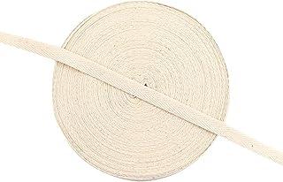 Ablita Fita de encadernação de algodão 50 m, fita de viés para costura, artesanato, correias de algodão, faça você mesmo, ...