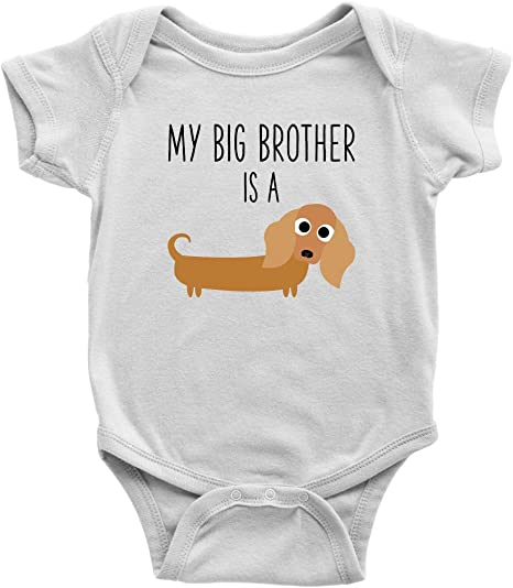 Weiner Clothes Dachshund Lover Outfit Dachshund Baby Bodysuit Dachshund Clothing Wiener Baby Outfit U-W-BS Sausage Dog Baby Clothing