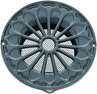 Rejilla de ventilación de estilo rústico de aluminio, DIN
