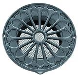 Aria griglia in stile rustico in alluminio, DIN Ø 150, bocchetta di ventilazione, aria incarcerare LMA